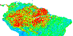 LBA LC-15 Aerodynamic Roughness Maps of Vegetation Canopies, Amazon Brazil: 2000 Roughness Length