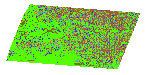 LBA ND-01 Primary Forests Land Cover Transition Maps, Rondonia, Brazil:  Luiza, 1986-1999