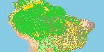 LBA REGIONAL LAND COVER FROM AVHRR, 1-KM, VERSION 1.2 (IGBP)